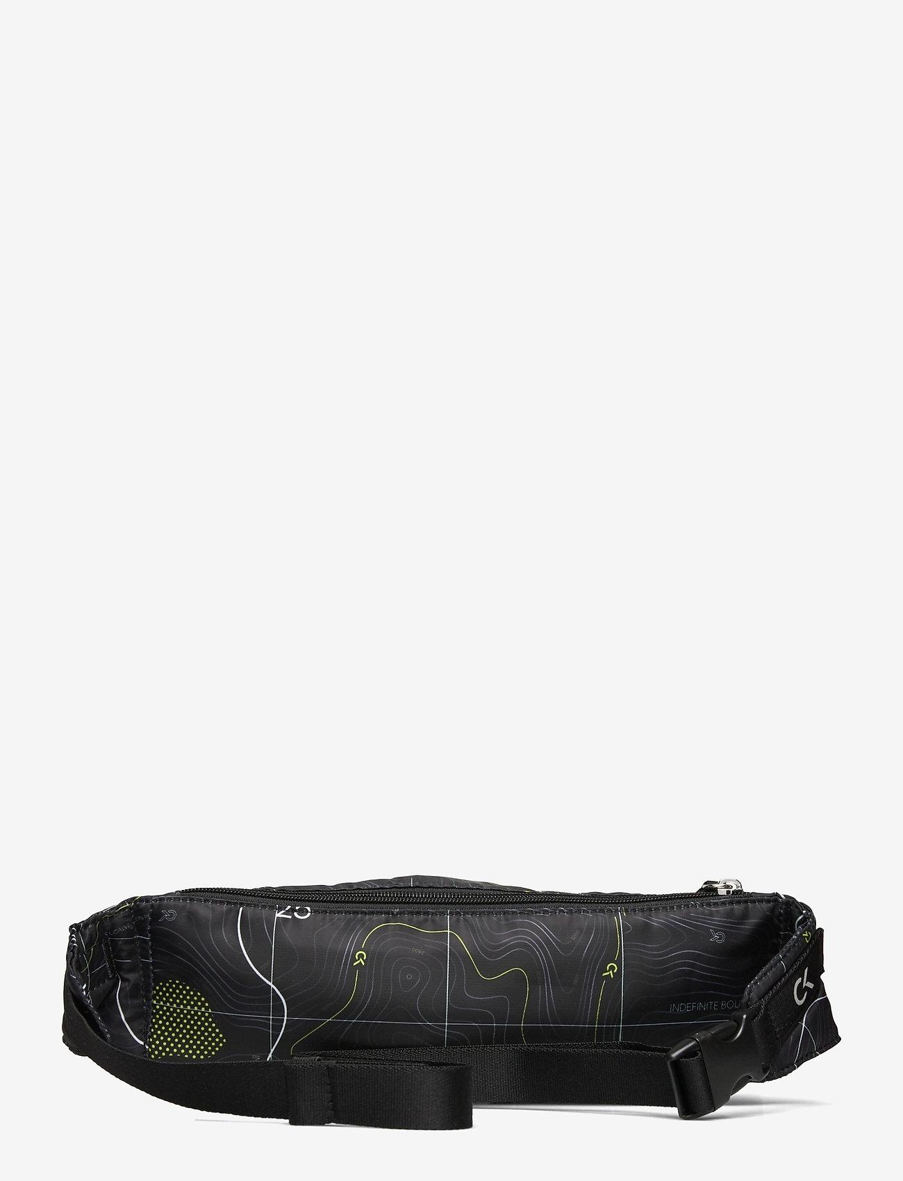 Calvin Klein Performance - WAISTPACK - heuptassen - elevation print black - 1