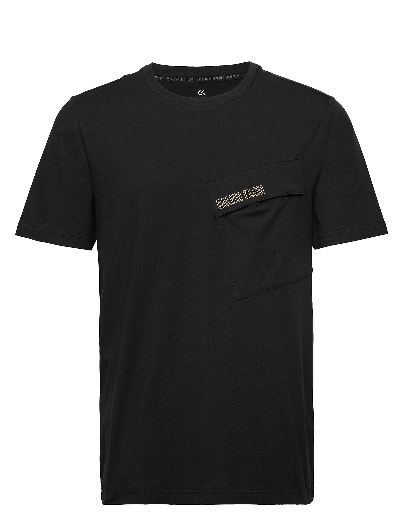 Image of Short Sleeve T-Shirt T-shirt Sort Calvin Klein Performance (3339881881)