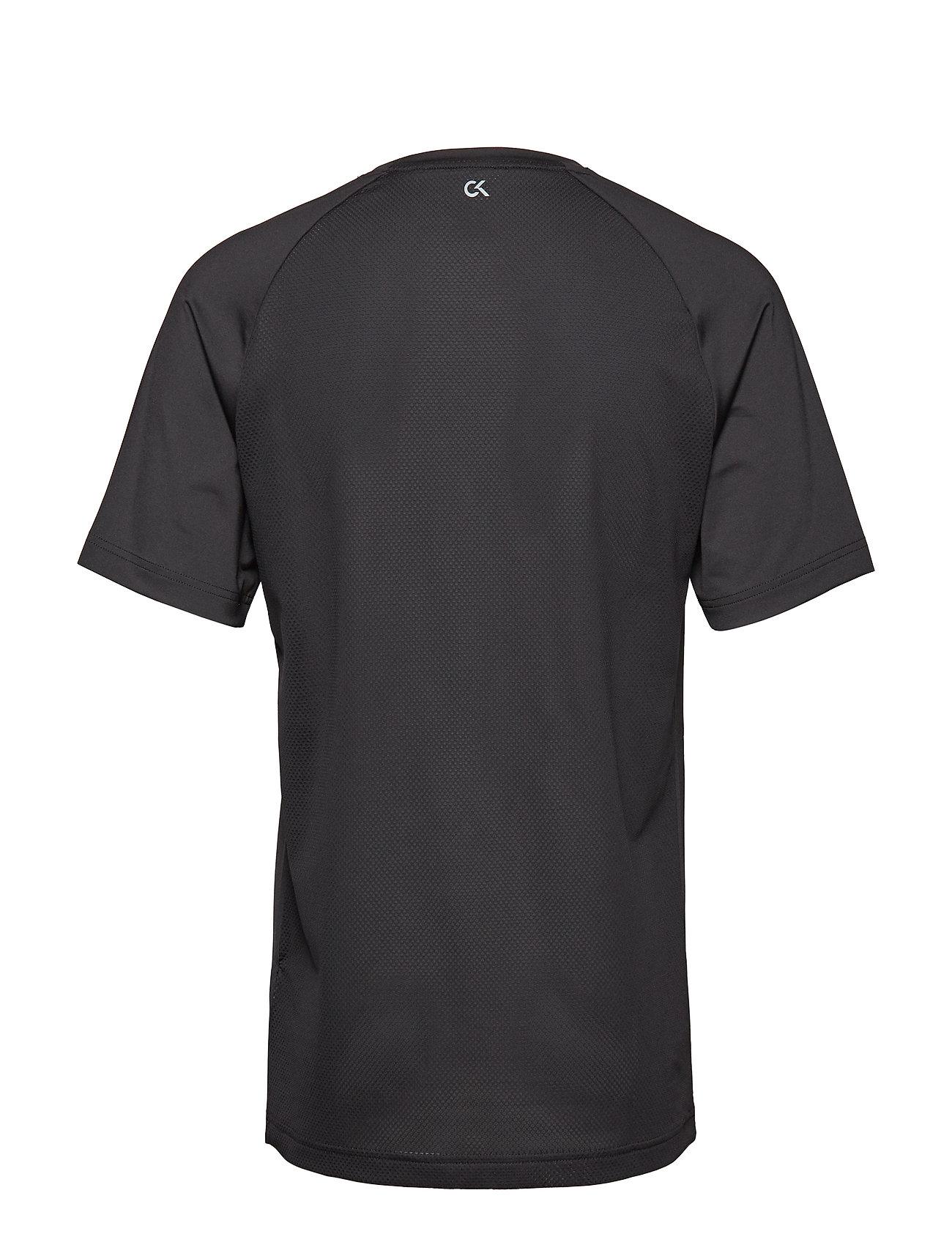 Black Klein CoralCalvin Ss Performance Teeck fiery Logo 80wNnvm