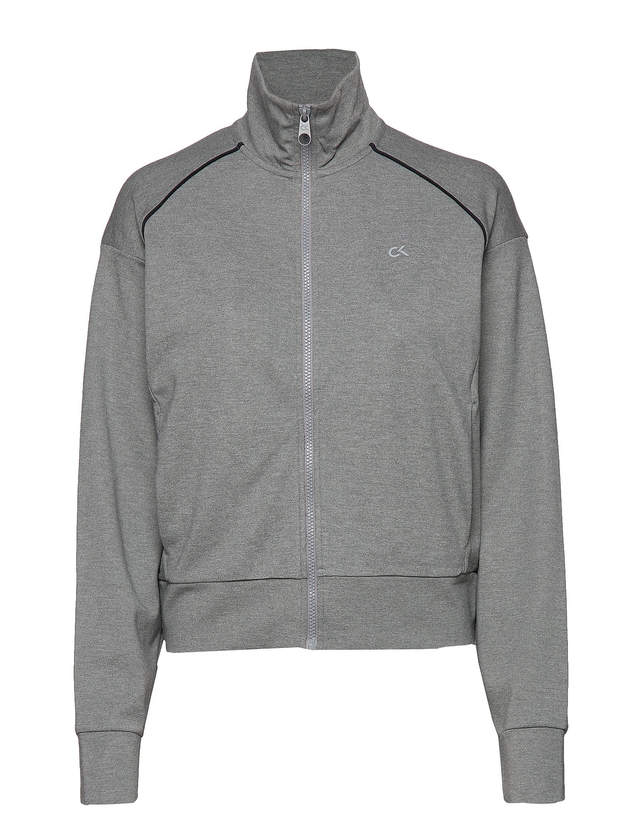 Calvin Klein Performance FZ JACKET - MEDIUM GREY HEATHER