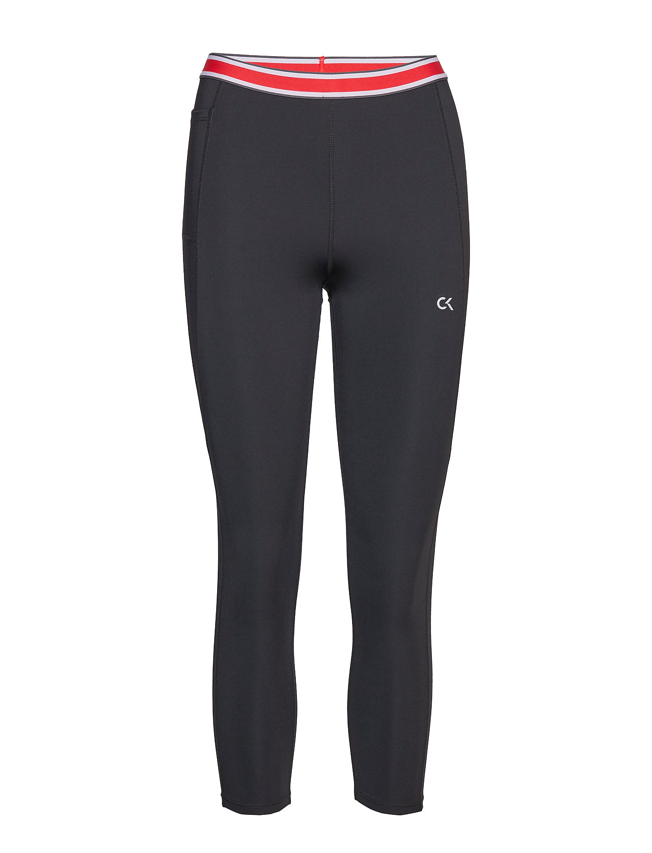 Calvin Klein Performance CROP LENGTH TIGHT - CK BLACK