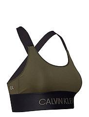 40442a769f8b0 Cross Back Sports Bra (Forest Night) (357.50 kr) - Calvin Klein ...