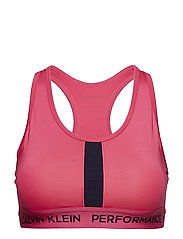 RACERBACK SPORTS BRA - PINK YARROW