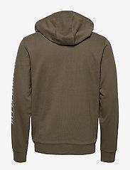 Calvin Klein Performance - FULL ZIP HOODED JACKET - hoodies - grape leaf - 1