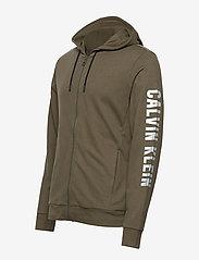 Calvin Klein Performance - FULL ZIP HOODED JACKET - hoodies - grape leaf - 2