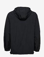 Calvin Klein Performance - 1/2 ZIP WOVEN JACKET - anoraks - ck black/bright white - 2