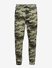 Calvin Klein Performance - KNIT PANTS - sweatpants - grape leaf camo - 0