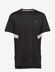 Calvin Klein Performance - SHORT SLEEVE T-SHIRT - sports tops - ck black - 0