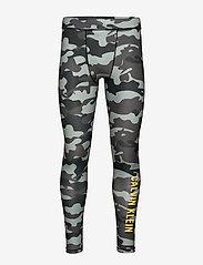 Calvin Klein Performance - LEGGINGS - running & training tights - ck black camo - 0