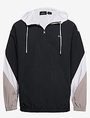 Calvin Klein Performance - Hooded Woven Jacket - anoraks - ck black - 0
