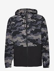 Calvin Klein Performance - WINDJACKET - training jackets - ck black camo - 0