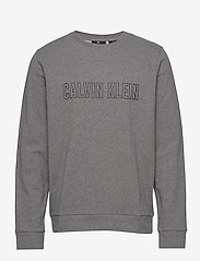 Calvin Klein Performance - PULLOVER - sweatshirts - med grey heather - 0