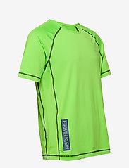 Calvin Klein Performance - SHORT SLEEVE T-SHIRT - sports tops - green flash/green flash/majoli - 3