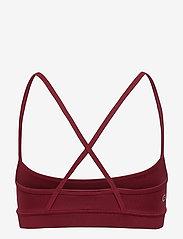 Calvin Klein Performance - LOW SUPPORT BRA - sportbeh''s: low - rouge - 1