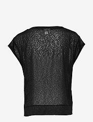 Calvin Klein Performance - CROPPED SHORT SLEEVE T-SHIRT - t-shirts - ck black - 1