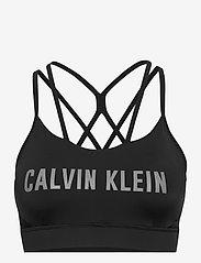 Calvin Klein Performance - WO - INFIN FLEX LOW SUPPORT BRA - sport bras: low support - ck black - 0