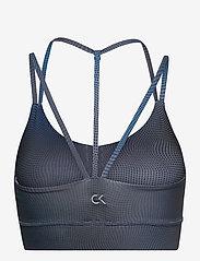 Calvin Klein Performance - WO - LOW SUPPORT BRA - sport bras: low - blue awakening ombre aop - 1