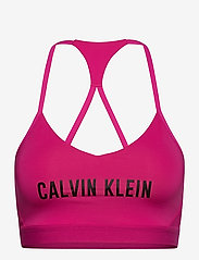 Calvin Klein Performance - LOW SUPPORT BRA - sort bras:high - beetroot purple - 0