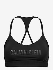 Calvin Klein Performance - LOW SUPPORT BRA - urheiluliivit: matala tuki - ck black - 0