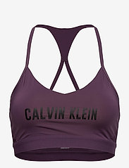 Calvin Klein Performance - LOW SUPPORT BRA - sport bras: low - vintage violet - 0