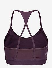Calvin Klein Performance - LOW SUPPORT BRA - sport bras: low - vintage violet - 1