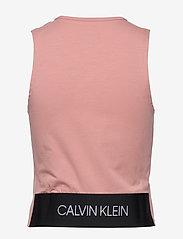 Calvin Klein Performance - TANK - podkoszulki bez rękawów - fresh pink - 1