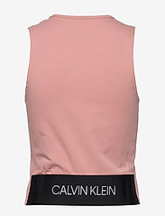 Calvin Klein Performance - TANK - linnen - fresh pink - 1