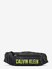 Calvin Klein Performance - WAISTPACK - heuptassen - elevation print black - 0