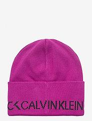 Calvin Klein Performance - BEANIE - mutsen - berry - 1