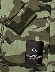 Calvin Klein Performance - FULL ZIP HOODED JACKET - hoodies - grape leaf camo - 3