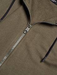 Calvin Klein Performance - FULL ZIP HOODED JACKET - hoodies - grape leaf - 3