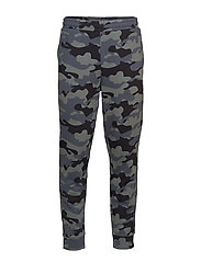 KNIT PANTS - CK BLACK CAMO