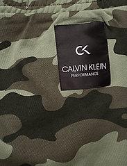 Calvin Klein Performance - KNIT PANTS - sweatpants - grape leaf camo - 4