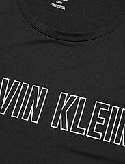Calvin Klein Performance - Logo Knit Tank Top - topjes - ck black - 2