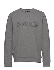PULLOVER - MED GREY HEATHER