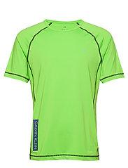 SHORT SLEEVE T-SHIRT - GREEN FLASH/GREEN FLASH/MAJOLI