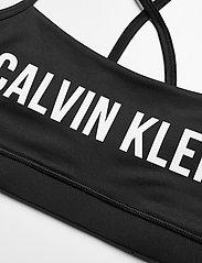Calvin Klein Performance - LOW SUPPORT BRA - sport bras: low - ck black/bright white - 2