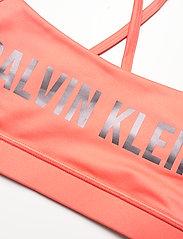 Calvin Klein Performance - LOW SUPPORT BRA - sport bras: low - kissable pink - 2