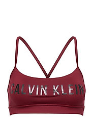 LOW SUPPORT BRA - ROUGE
