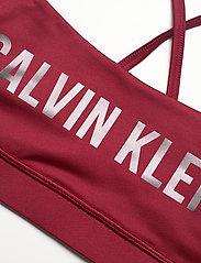 Calvin Klein Performance - LOW SUPPORT BRA - sportbeh''s: low - rouge - 2