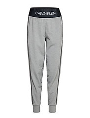 KNIT PANTS - MEDIUM GREY HEATHER