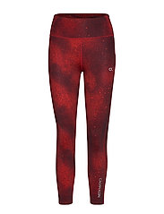 Calvin Klein Performance 7/8 TIGHT - CK BLACK/FLASHING RED