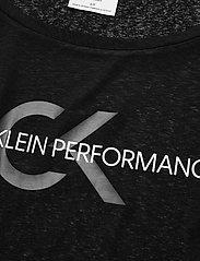 Calvin Klein Performance - CROPPED SHORT SLEEVE T-SHIRT - t-shirts - ck black - 2