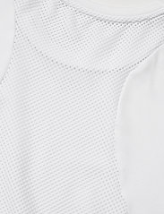Calvin Klein Performance - PW - MESH BACK CROPPED T-SHIRT - crop tops - bright white - 3