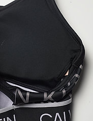 Calvin Klein Performance - WO - LOW SUPPORT BRA - sport bras: low - ck black ck aop - 3