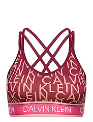 WO - LOW SUPPORT BRA - ROUGE CK AOP