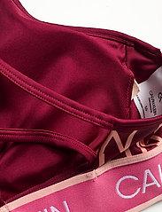 Calvin Klein Performance - WO - LOW SUPPORT BRA - sport bras: low - rouge ck aop - 3