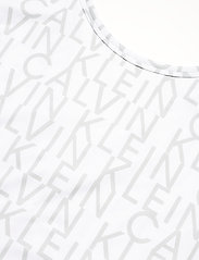 Calvin Klein Performance - WO - AOP CROP  T-SHIRT - crop tops - bright white ck aop - 2
