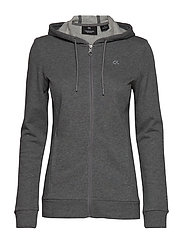 FZ HOODY - MEDIUM GREY HEATHER