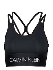 LOW SUPPORT SPORTS BRA - CK BLACK
